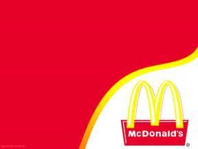Mcdonalds Powerpoint Template by Mc Donalds Restaurant Template Powerpoint