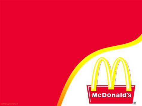 Mcdonalds Powerpoint Template mcdonalds backgrounds hd pictures