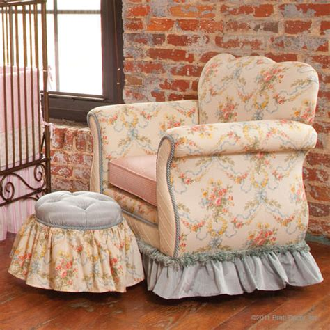 shabby chic chair and ottoman popular shabby chic ottoman house plan and ottoman