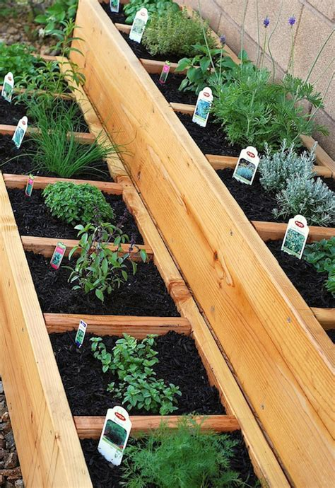how to build a container garden box how to make a fantastic raised bed herb garden herbs info