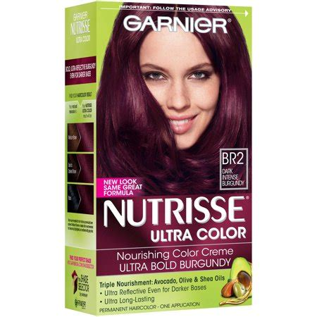 garnier fructis hair dye colors garnier nutrisse ultra color nourishing hair color creme
