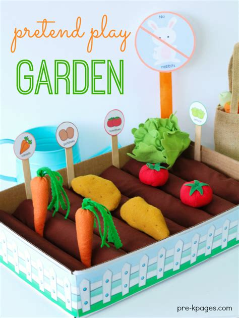 Garden Activities For Preschoolers Dramatic Play Garden
