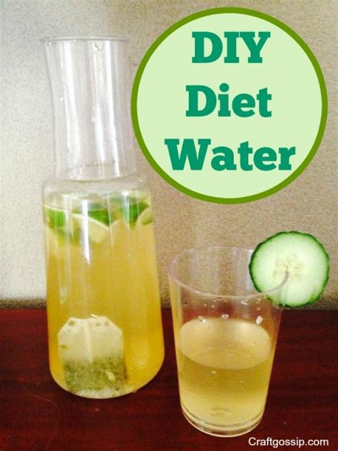 Detox Diet Water Recipe by Diy Diet Water Bath And