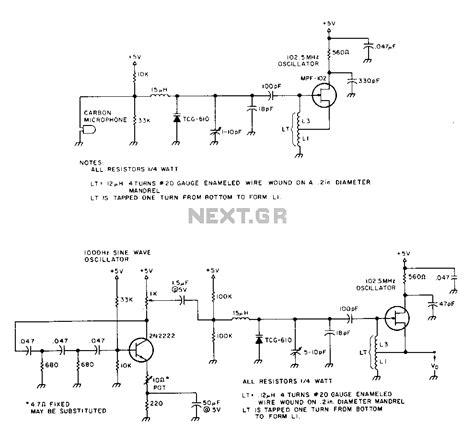 fm transmitter using single transistor gt rf gt fm transmitters gt a one transistor fm transmitter l13823 next gr
