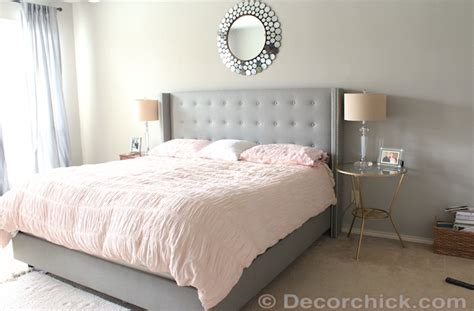 Surprise i redid our master bedroom again navy and coral bedroom decorchick