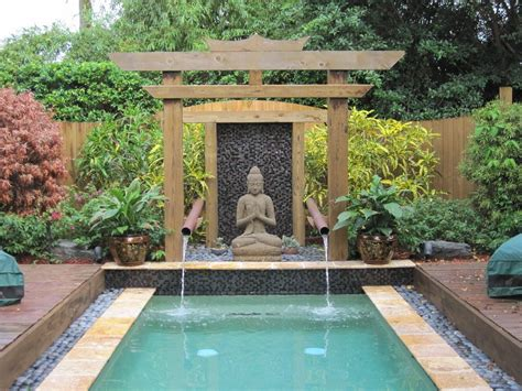 pool fountain ideas buddha garden ideas pool asian with water feature water