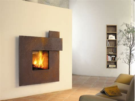 Cheminee Metal by Metal Fireplace Mantels Fireplace Design Ideas