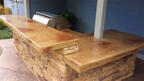 Outdoor Kitchen Concrete Countertop by Concrete Countertop Outdoor Kitchens In Sacramento Ca
