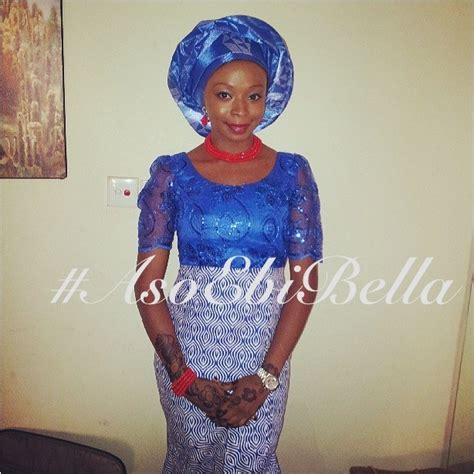 aso ebi bella naija iro and buba bella naija wedding 2014 blouse and iro styles