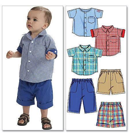 pattern shirt boy baby clothes pattern boys shirts pants and shorts small