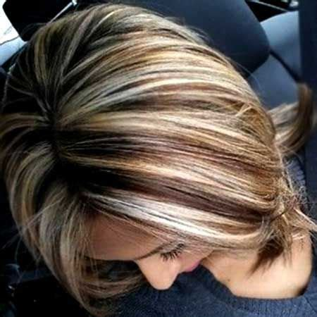 blonde foil highlights short hairstyle 2013 color for short haircuts short haircuts haircuts and shorts