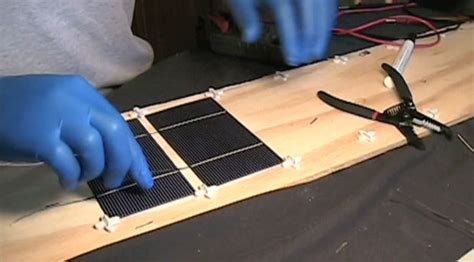 how to make a solar light from scratch how to build a solar panel from scratch and generate power