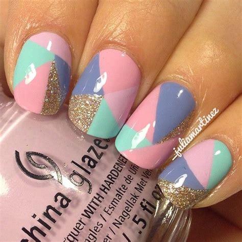 nail art design yagala 20 color block nail designs for beginners pretty designs