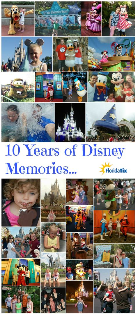 10 Disney Of The Past by Disney World In Pictures From The Past 10 Years