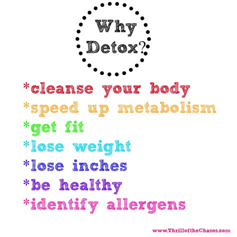 Eat Your Way To Health 28 Day Detox by Arbonne 30 Day Feeling Fit Detox Thrill Of The Chases