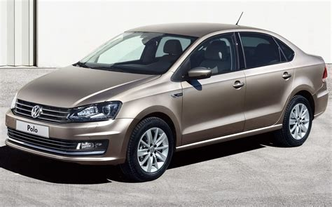 2016 Volkswagen Polo Sedan Pictures Information And