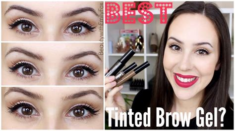 Nyx Clear Eyebrow Gel best drugstore high end tinted brow gels benefit nyx