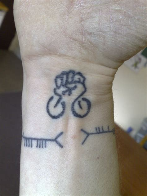 cycling tattoos cycling bicycletattoos tattoos bicycle tattoos