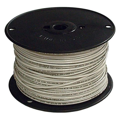 southwire 500 ft 2 white stranded cu simpull thhn wire