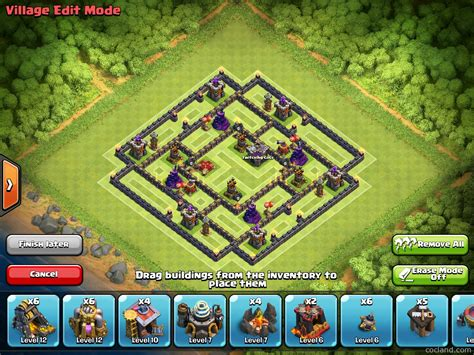 update layout coc massacore 2 0 solid post update th9 farming layout