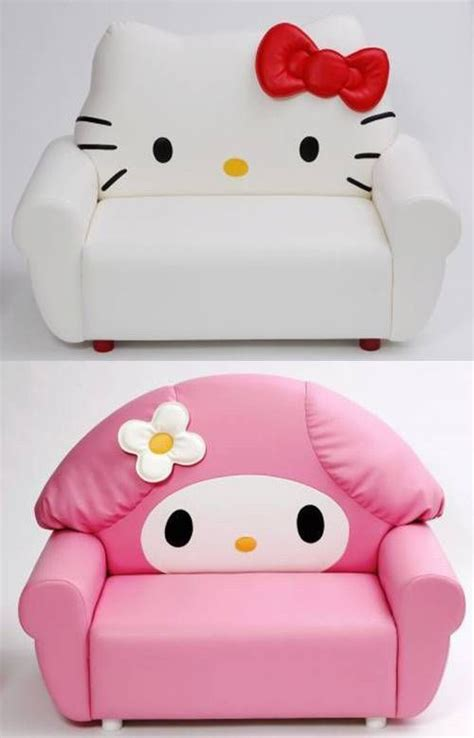 hello kitty couch sanrio sofa features hello kitty and my melody japan today