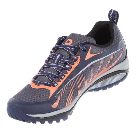 hiking trail running shoes merrell siren edge trail running sneaker hiking shoe