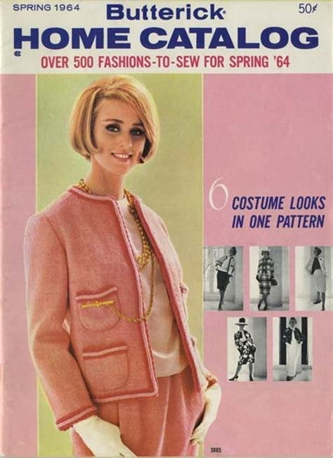 sewing pattern catalogs butterick catalog spring 1964 my vintage butterick