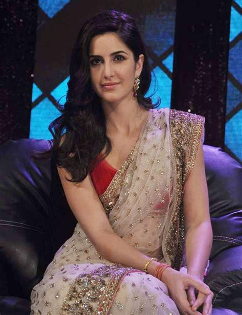 bollywood heroine image in saree katrina kaif words are not enough for her beauty