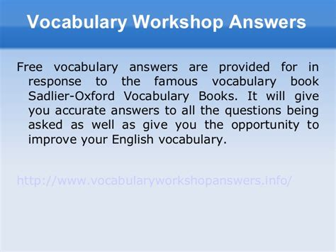 vocabulary workshop level c unit 1 3 review vocab level e answers review unit 7 9
