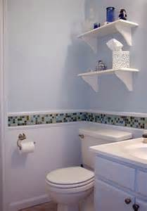 bathroom wallpaper border ideas for bathroom re do in rental use the 4x4 shower tile to tie it all together or maybe some