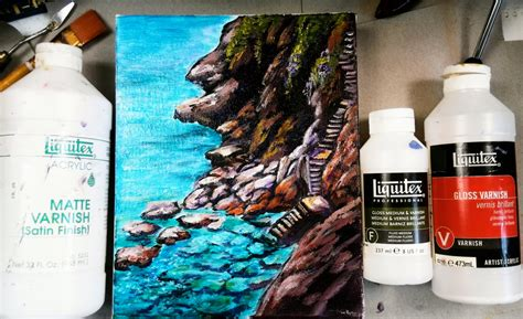 can you use acrylic paint on a canvas how to varnish your acrylic painting tips and tricks