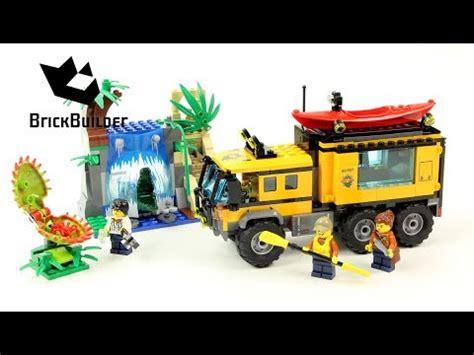 Lego City 60160 Jungle Mobile Lab lego city 60160 jungle mobile lab lego speed build