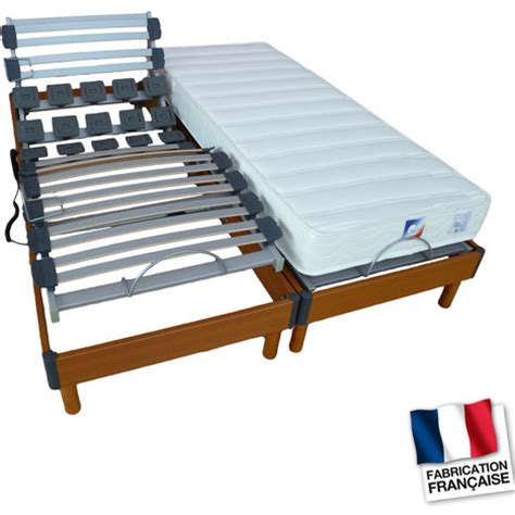 Lit Relaxation by Lit Relaxation 233 Lectrique Tpr Lombatonic4 Lit 160x200 Cm