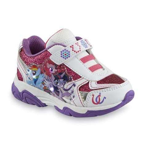 rainbow light up shoes hasbro my little pony s white purple