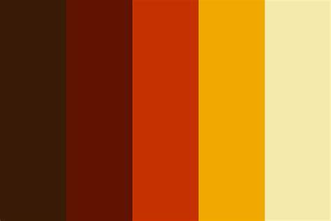 60s colors 60s palette 6 color palette