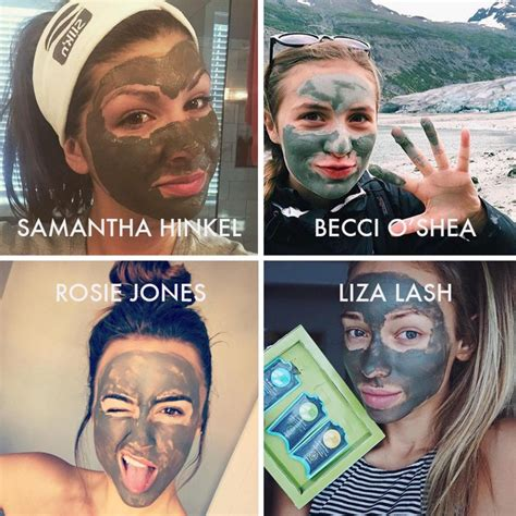 Masker Lumpur Hello Instant Glowing Mask musely