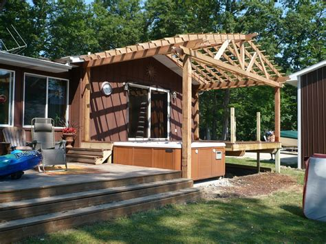 gable roof pergola plans gabled pergola class decks