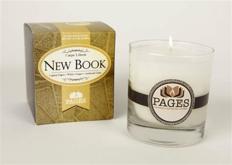 scented soy candle unique candle book lover s candle new book scented candle candles for book by