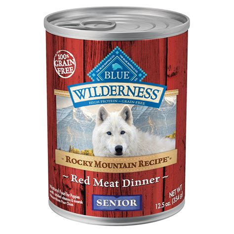 blue mountain puppy food blue buffalo wilderness rocky mountain recipe senior canned food petco