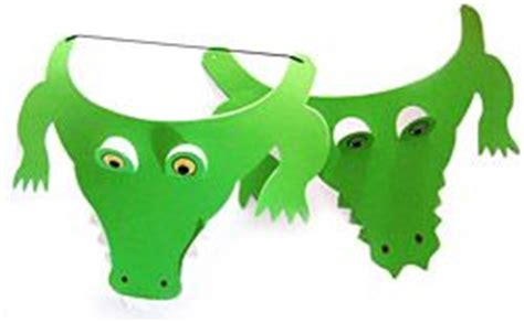 crocodile mask template printable alligator mask crocodile mask alligator