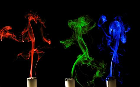 sfondi candele colorful candle smoke wallpaper wallpaper wide hd