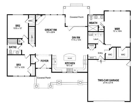 ranch style bungalow floor plans best 25 unique floor plans ideas on pinterest small