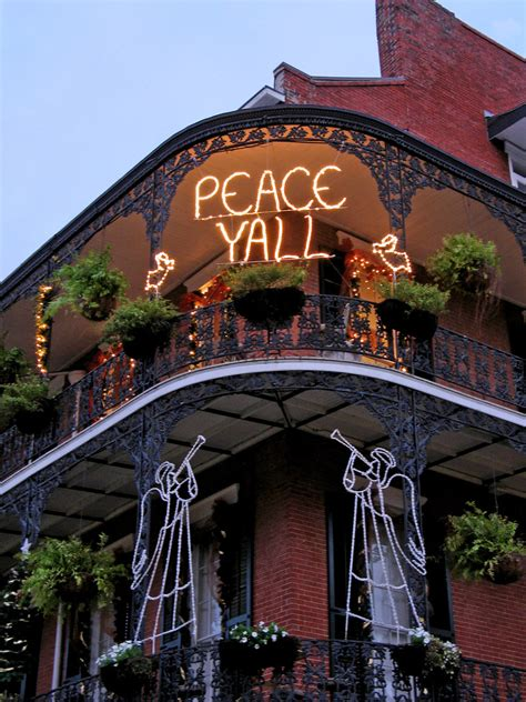 peace yall french quarter  orleans december   flickr
