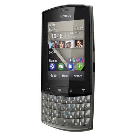 Hp Nokia Asha 303 Terbaru sim free nokia asha 303 graphite
