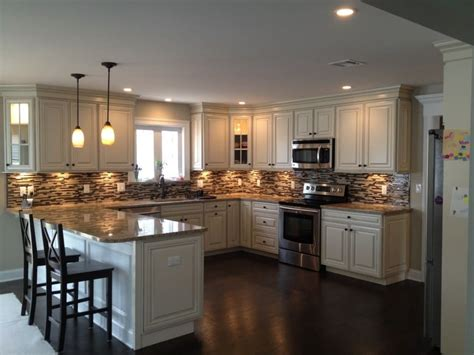 Kitchen Backsplash Photos White Cabinets by 20 Nice U Shaped Kitchen Design Ideas Photos Epic Home