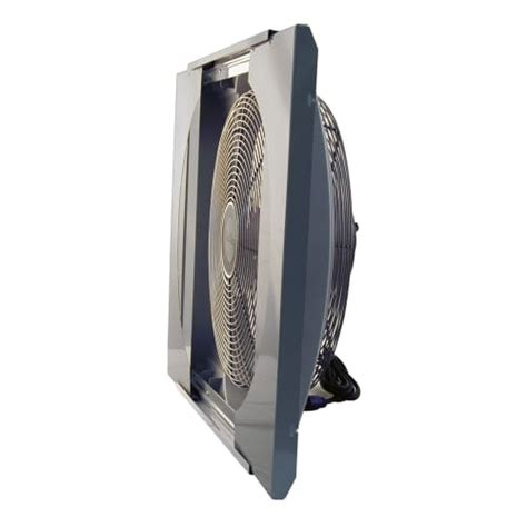 airking 9166 20 whole house window fan air king 9166 20 inch 3560 cfm whole house window mounted fan with storm guard ebay