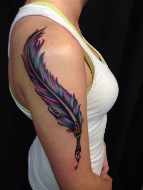 tattoo pen st 25 best ideas about feather pen tattoo on pinterest
