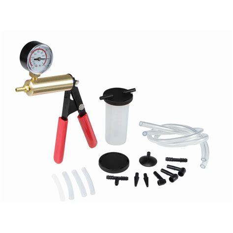 Vaccum Brake by Brake Bleeder And Vacuum Kit