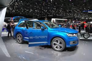 Audi Q7 Test Drive Audi Q7 E Test Drive Review