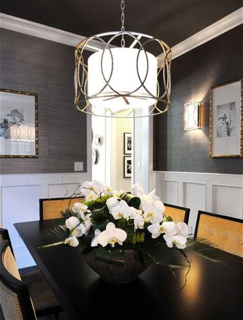 how high should chandelier hang over table 25 best ideas about dining room wallpaper on pinterest